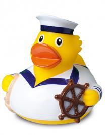Schnabels® Quietsche-Ente Seemann weiß