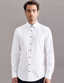 Men`s Shirt Poplin Slim Fit Longsleeve