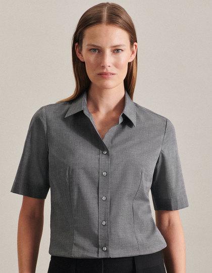 Women`s Blouse Regular Fit Shortsleeve