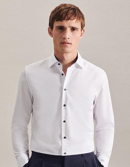 Men`s Shirt Poplin Shaped Fit Longsleeve