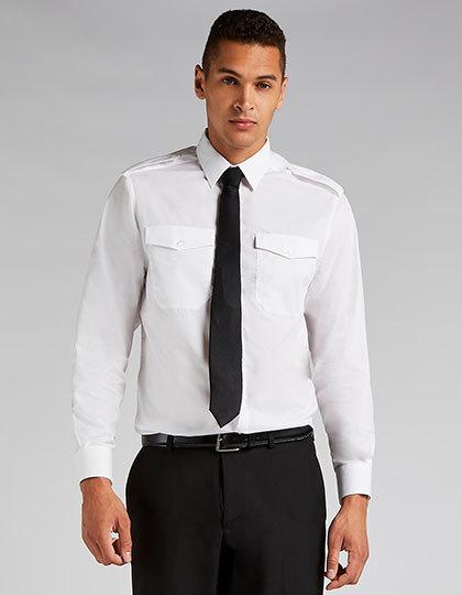 Men`s Tailored Fit Pilot Shirt Long Sleeve